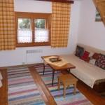 Obývačka - rozkladací gauč